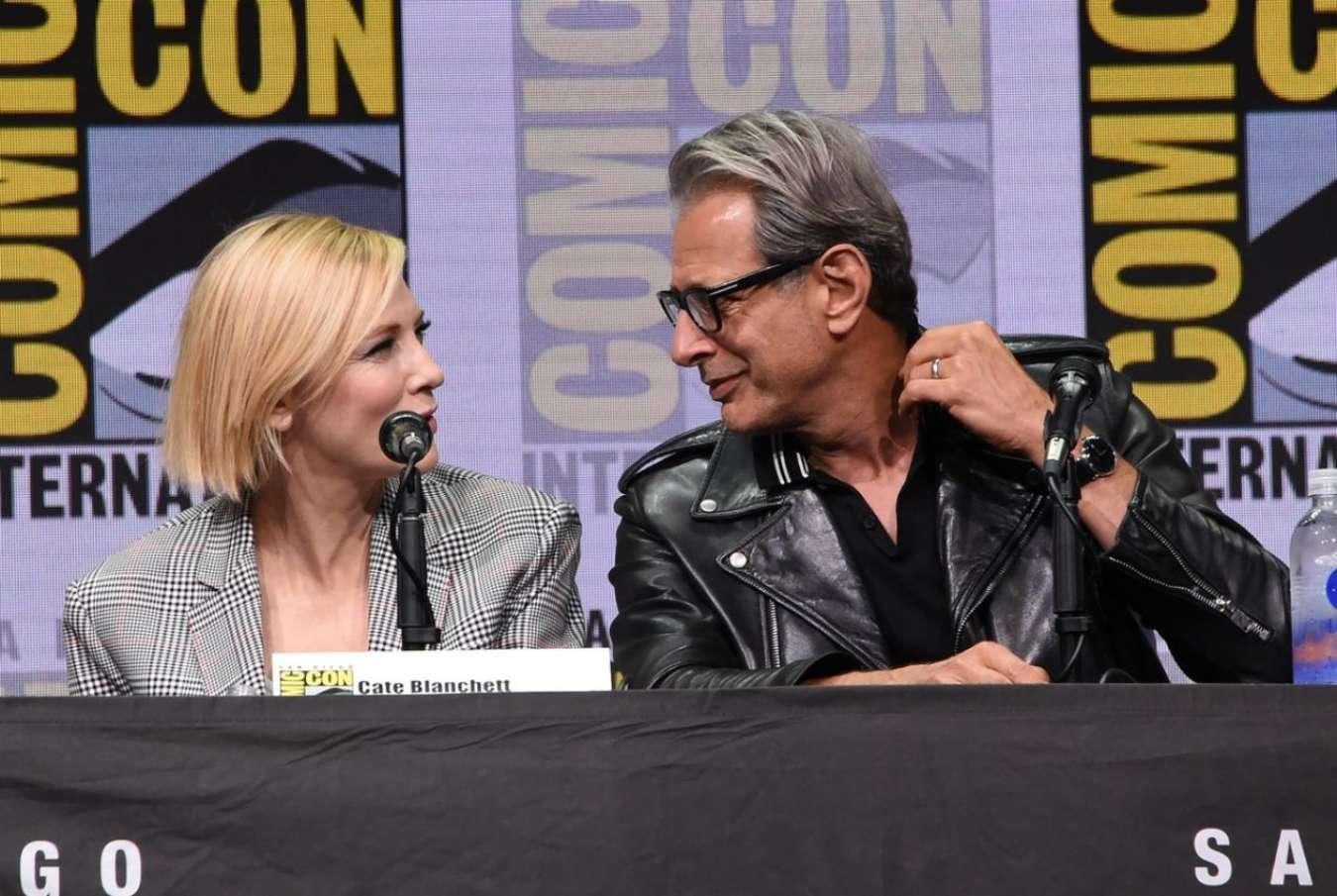 Cate Blanchett 2017 : Cate Blanchett: Marvel Studios Panel at San Diego Comic-Con 2017-06
