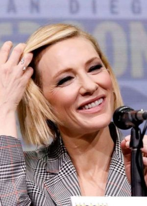 Cate Blanchett - Marvel Studios Panel at San Diego Comic-Con 2017
