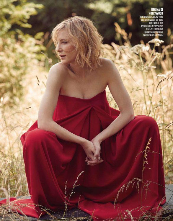 Cate Blanchett - Natural Style Magazine (December 2019)