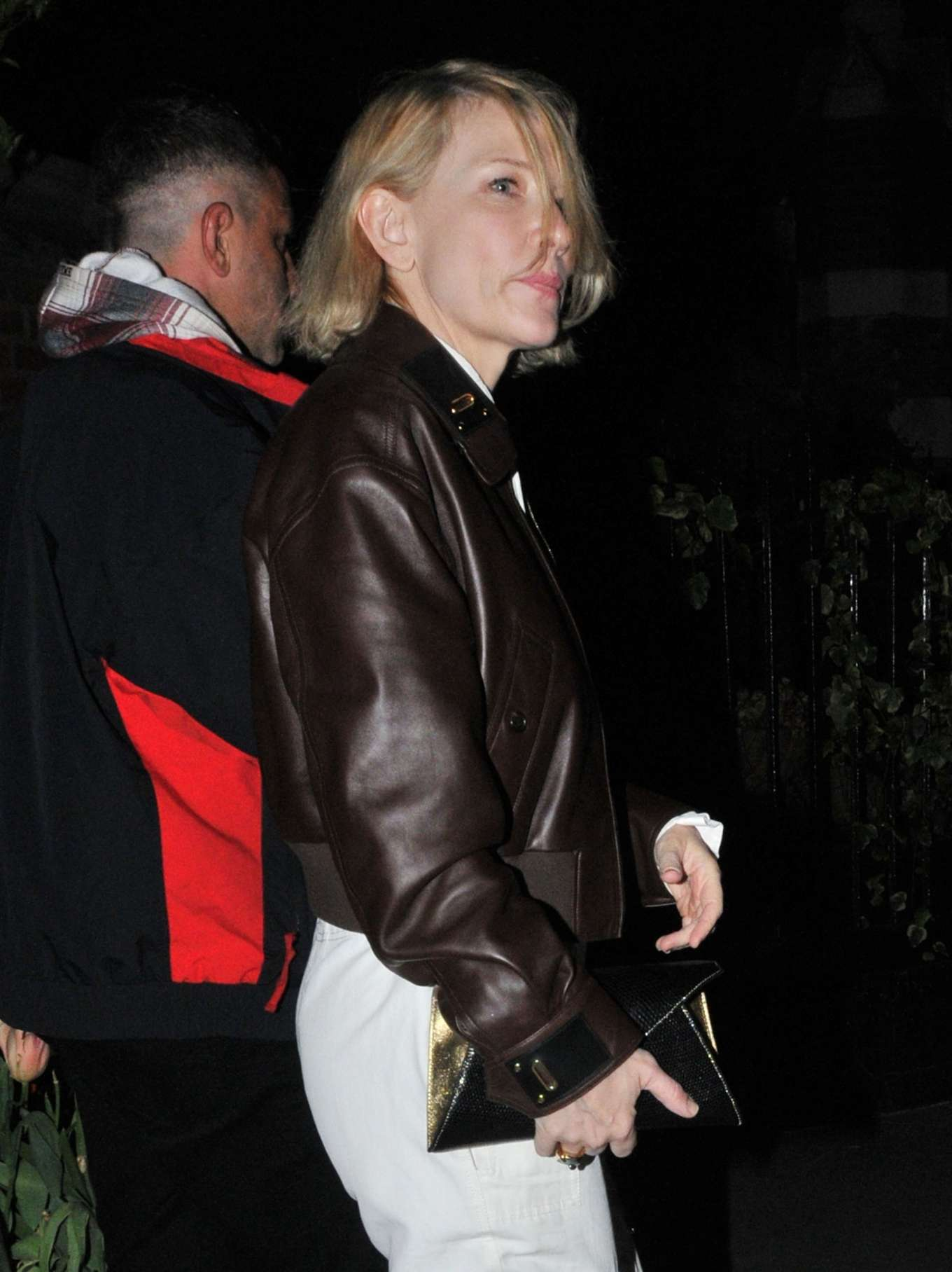 Cate Blanchett - Night out in London