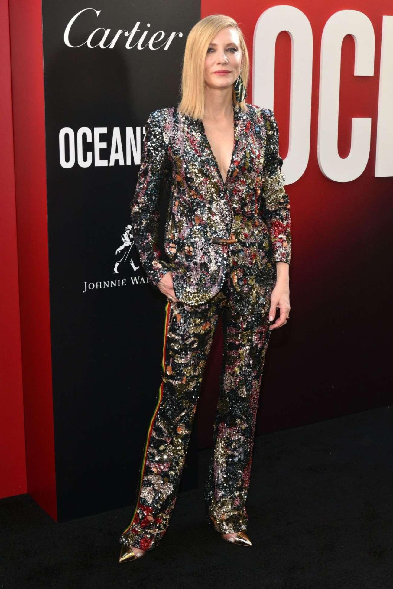 Cate Blanchett 2018 : Cate Blanchett: Ocean's 8 Premiere photocall In New York-01