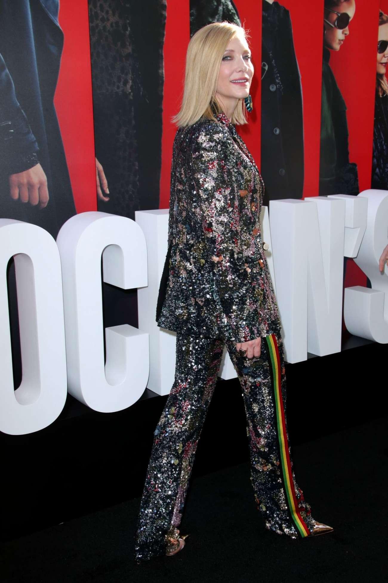Cate Blanchett 2018 : Cate Blanchett: Ocean's 8 Premiere photocall In New York-02