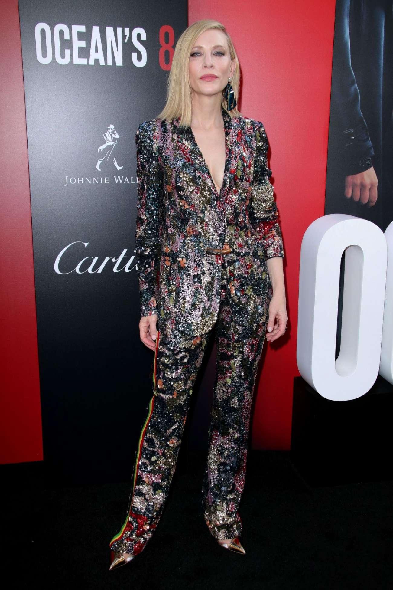 Cate Blanchett 2018 : Cate Blanchett: Ocean's 8 Premiere photocall In New York-03