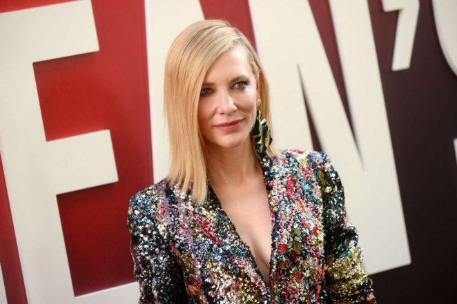 Cate Blanchett - Ocean's 8 Premiere photocall In New York