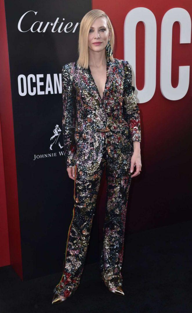 Cate Blanchett 2018 : Cate Blanchett: Ocean's 8 Premiere photocall In New York-07