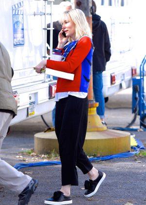 Cate Blanchett - On set of 'Ocean's Eight' in New York City