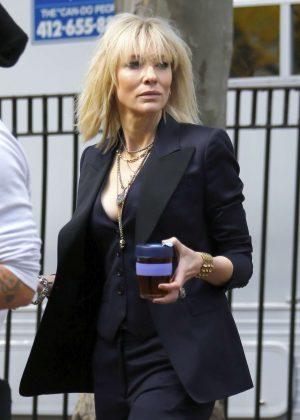 Cate Blanchett on the Set of 'Ocean's Eight' in New York City