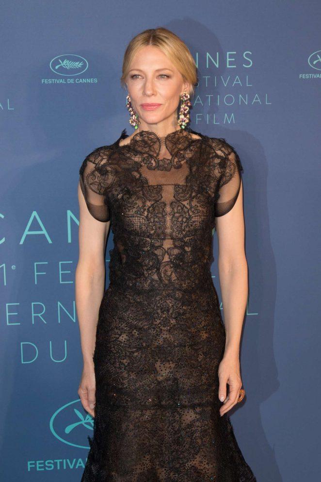 Cate Blanchett - Opening Dinner at 2018 Cannes Film Festival