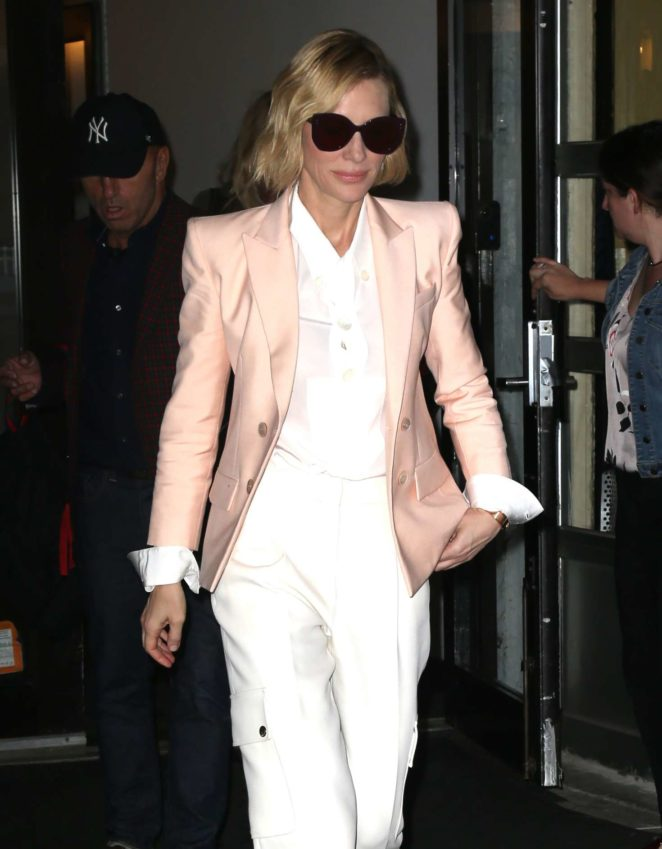 Cate Blanchett out and about in New York City