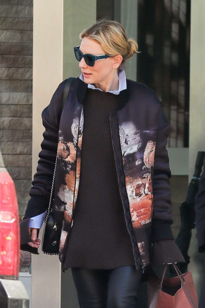 Cate Blanchett out and about in New York