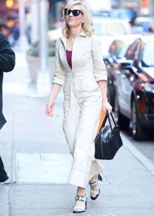 Cate Blanchett out and about in NYC