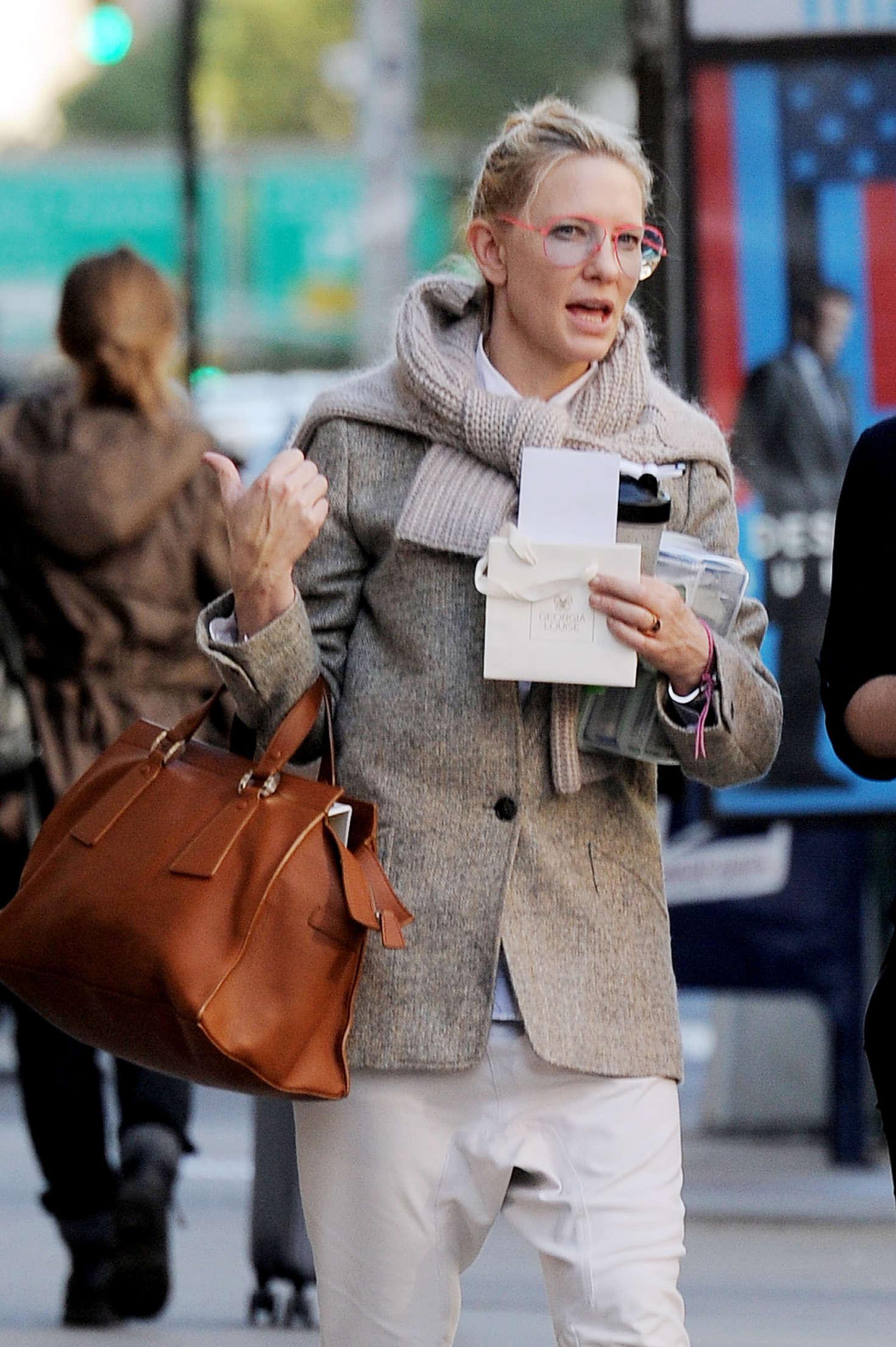 Cate Blanchett out in Manhattan