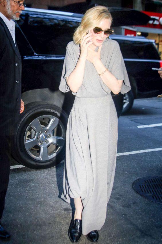 Cate Blanchett 2019 : Cate Blanchett – Out in New York City-02