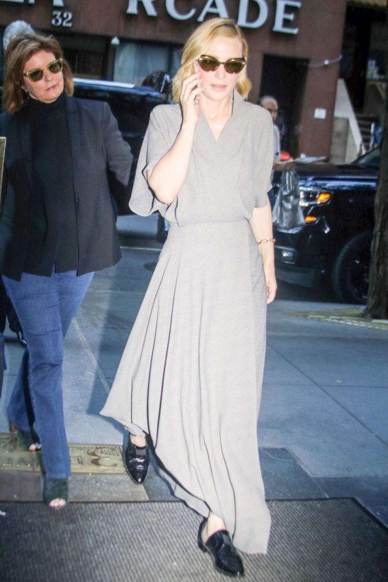 Cate Blanchett 2019 : Cate Blanchett – Out in New York City-03
