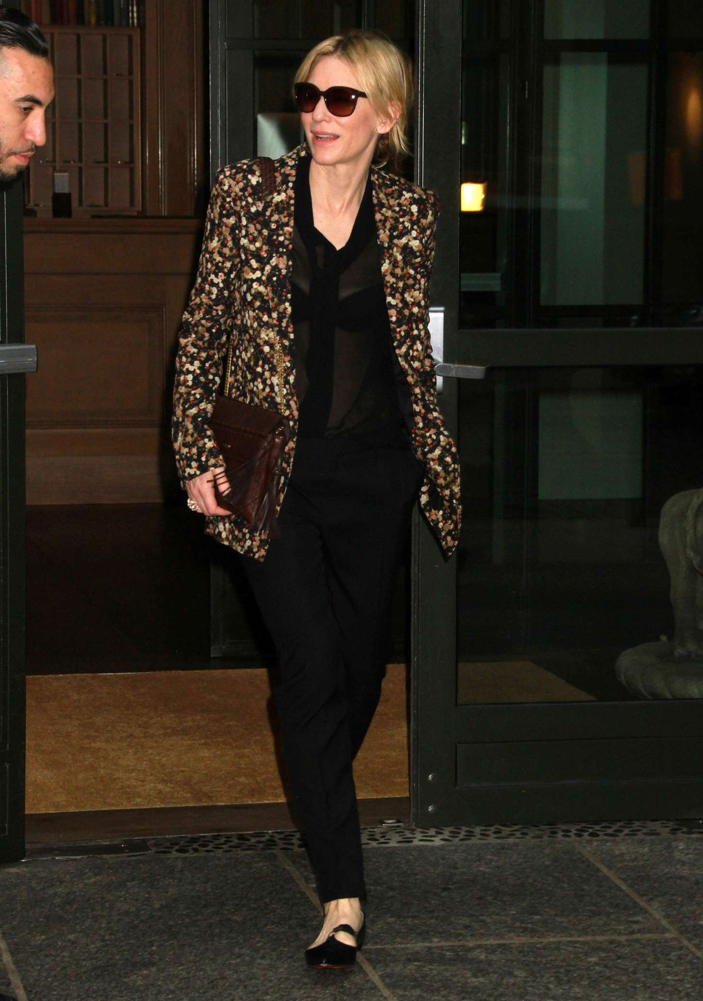Cate Blanchett 2015 : Cate Blanchett out in New York City -01