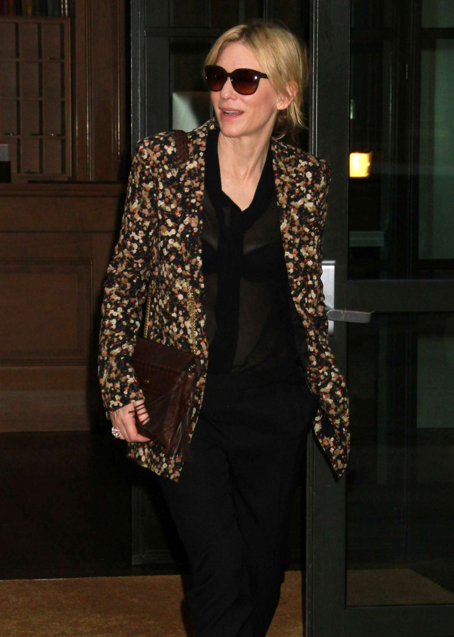 Cate Blanchett 2015 : Cate Blanchett out in New York City -02