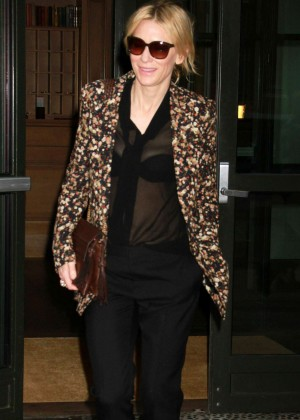 Cate Blanchett out in New York City