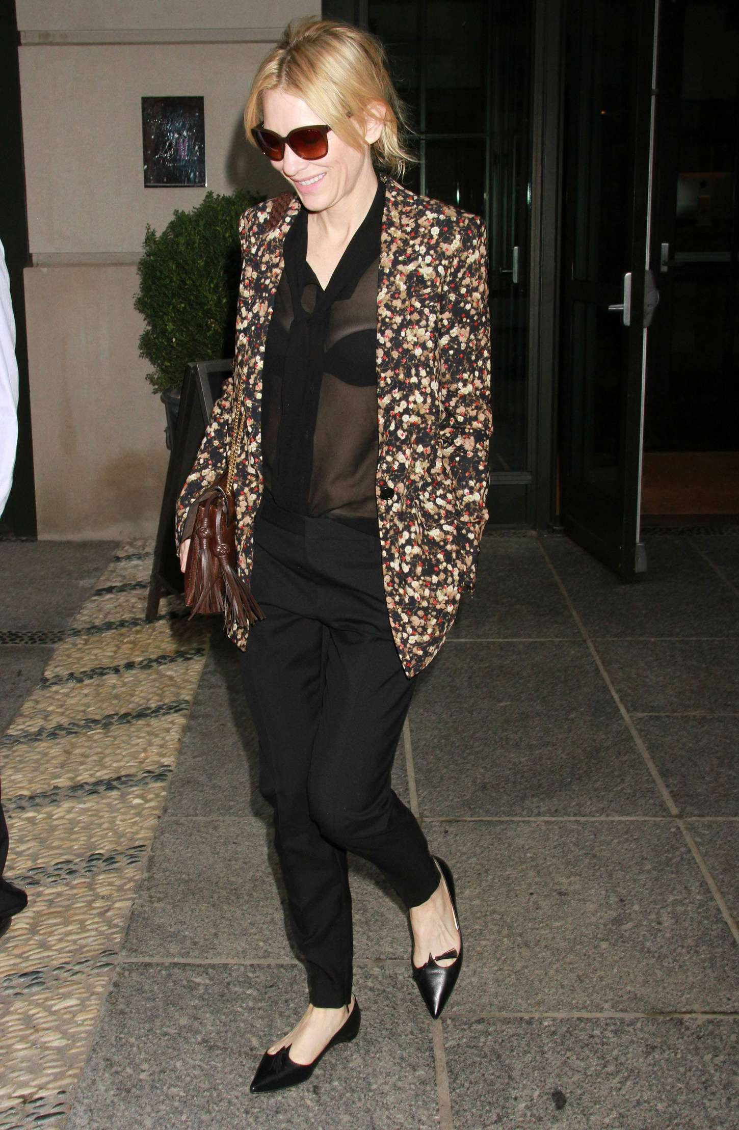Cate Blanchett 2015 : Cate Blanchett out in New York City -04