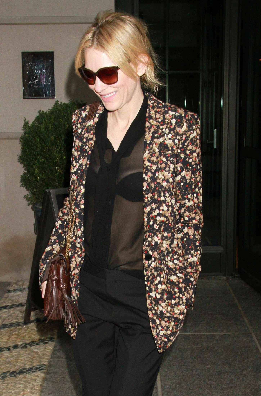Cate Blanchett 2015 : Cate Blanchett out in New York City -06