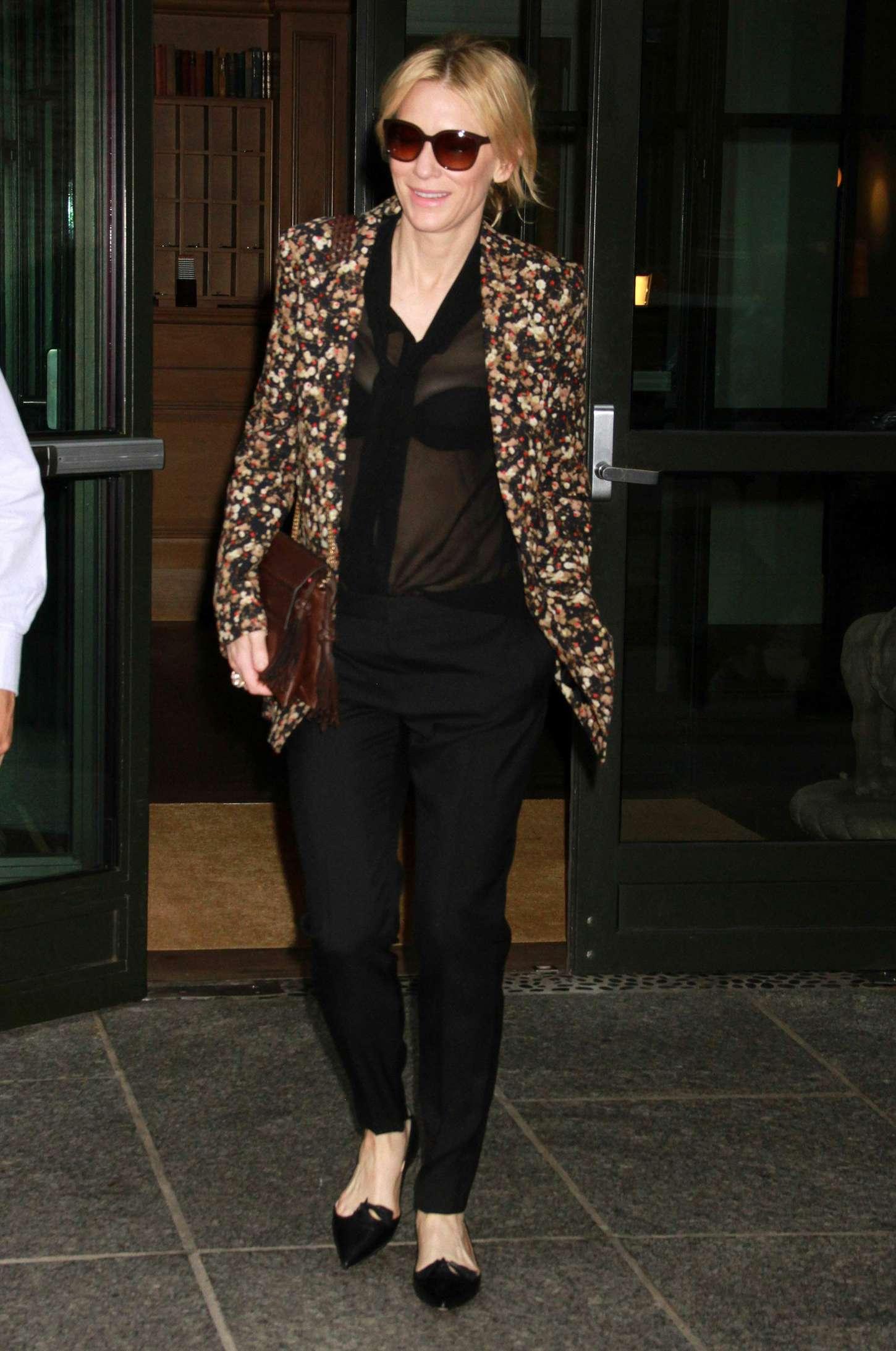 Cate Blanchett 2015 : Cate Blanchett out in New York City -08