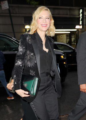 Cate Blanchett - Out in New York