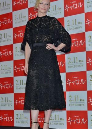 Cate Blanchett - Promotes 'Carol' in Tokyo