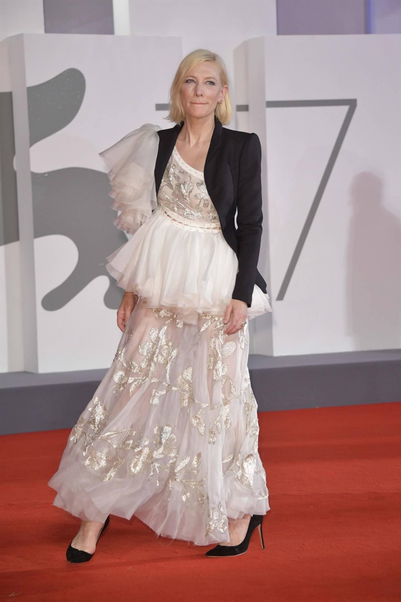 Cate Blanchett 2020 : Cate Blanchett – Red Carpet for the Golden Lion Award for Lifetime Achievement Ceremony to Ann Hui -13