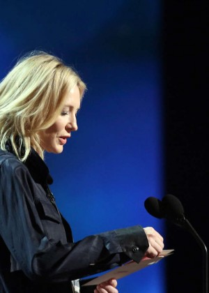 Cate Blanchett - Rehearsing for the 88th Annual Academy Awards in Hollywood