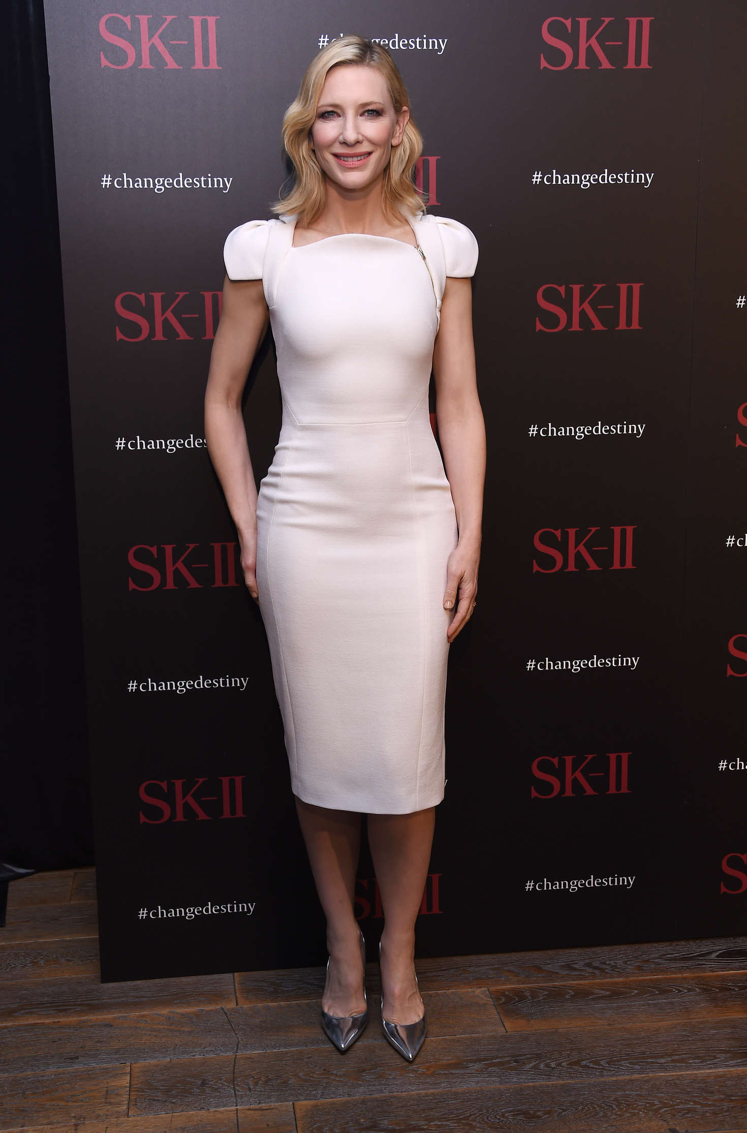 Cate Blanchett - SK-II ChangeDestiny Forum-Photocall in Los Angeles