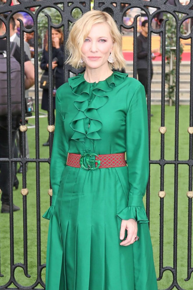 Cate Blanchett - 'The House with a Clock in Its Walls' Premiere in London
