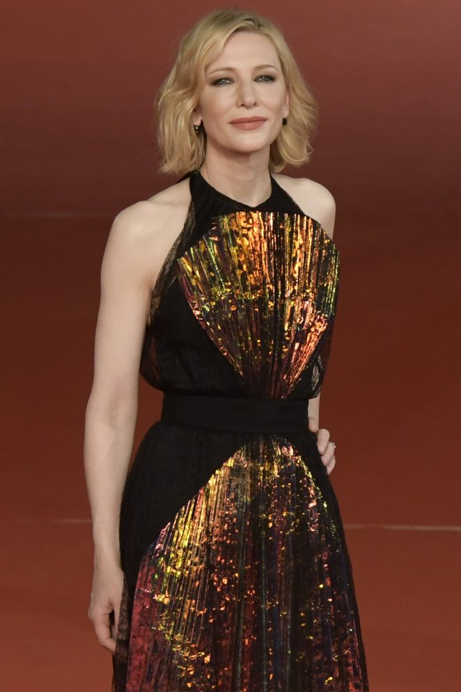 Cate Blanchett - 'The House with a Clock in Its Walls' Premiere in Rome