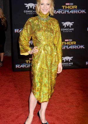 Cate Blanchett - 'Thor: Ragnarok' Premiere in Los Angeles
