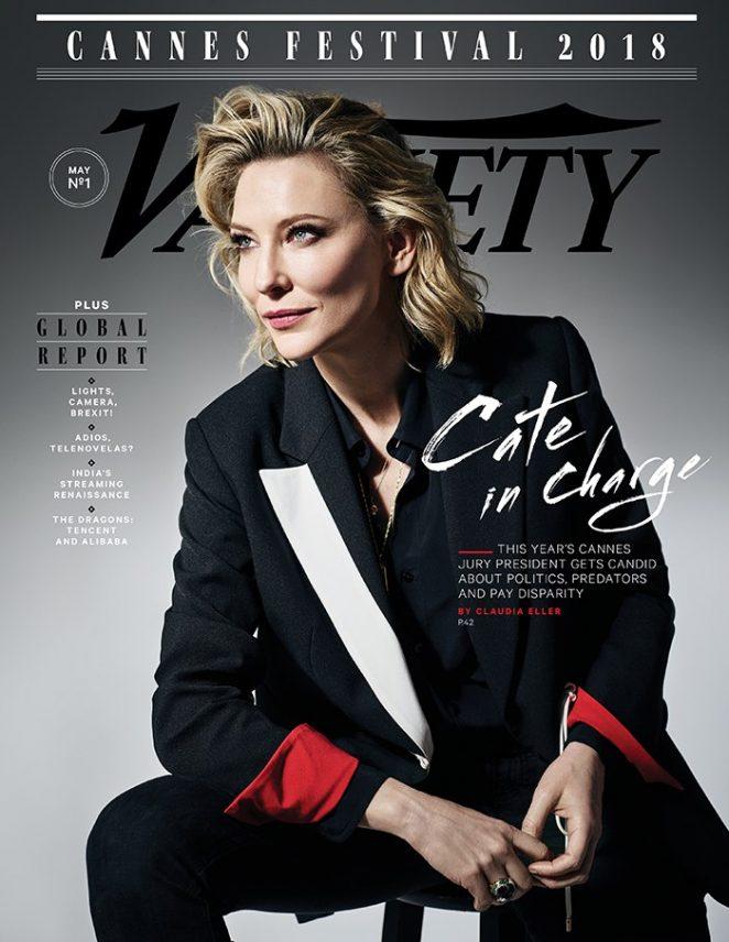 Cate Blanchett - Variety Magazine (May 2018)