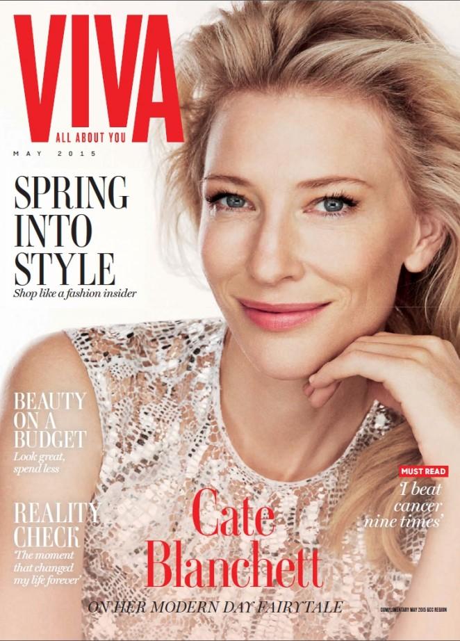 Cate Blanchett - VIVA Magazine Middle East (May 2015)