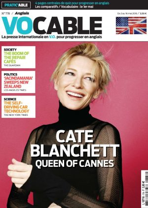 Cate Blanchett - Vocable All English (May 2018)