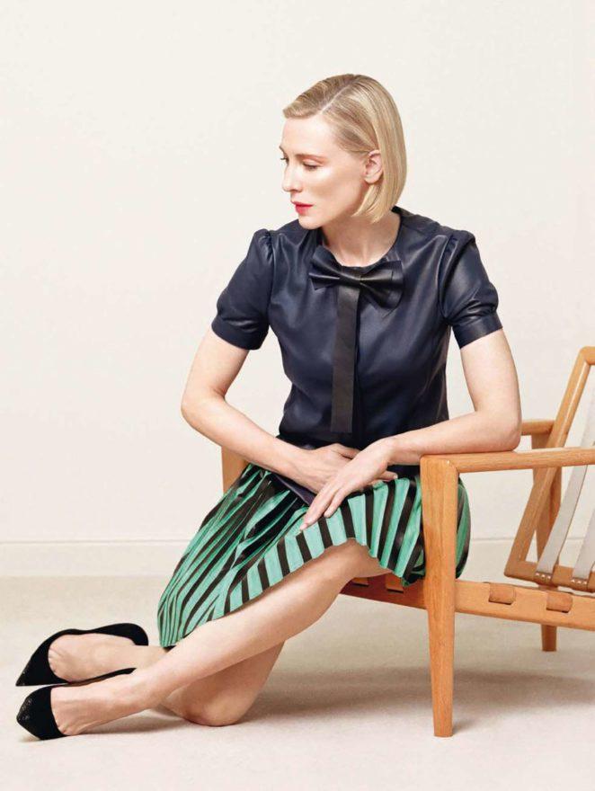 Cate Blanchett - Vogue Italy Magazine (November 2017)