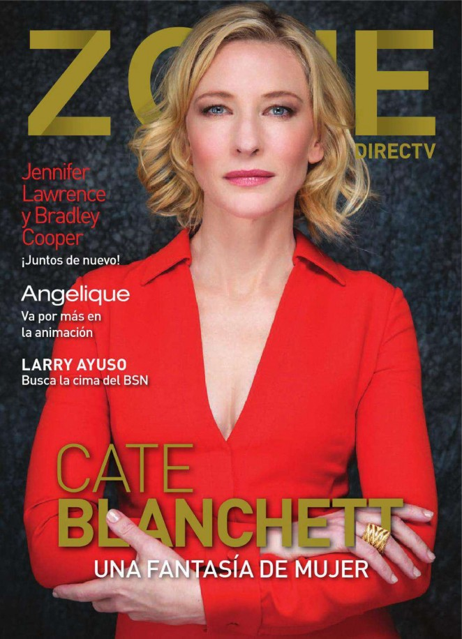 Cate Blanchett - Zone Direc TV Magazine (March 2015)