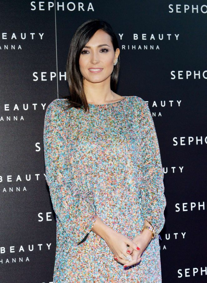 Caterina Balivo - 'Fenty' by Rihanna makeup launch in Milan