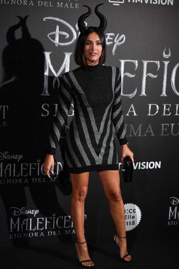 Caterina Balivo - 'Maleficent: Mistress Of Evil' Premiere in Rome