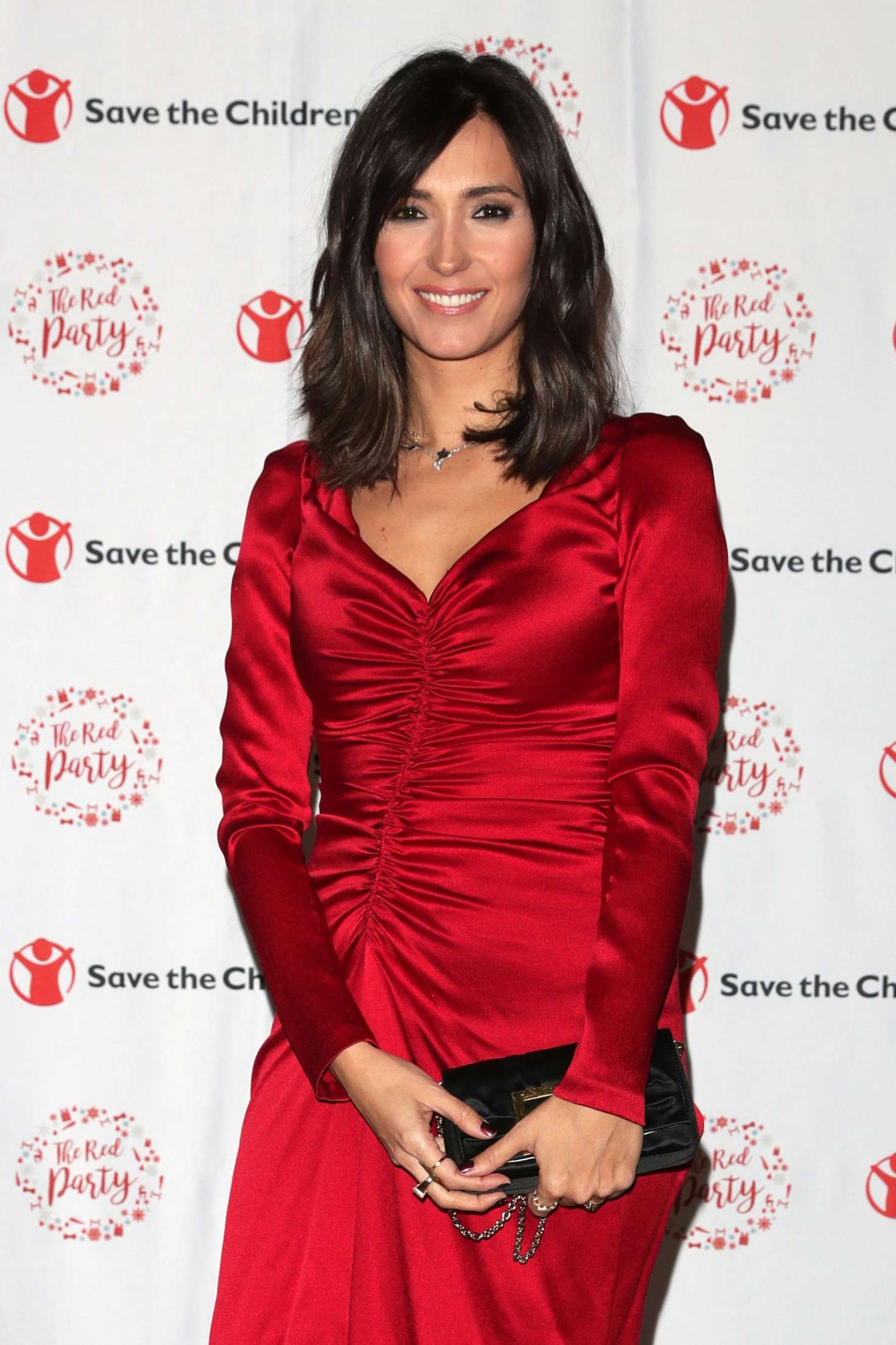 Caterina Balivo Save The Children Charity Party In Milan