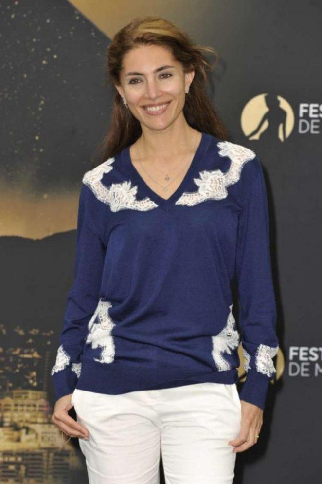 Caterina Murino at 2017 Monte-Carlo Television Festival