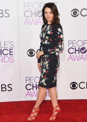 Caterina Scorsone - 2017 People's Choice Awards in Los Angeles