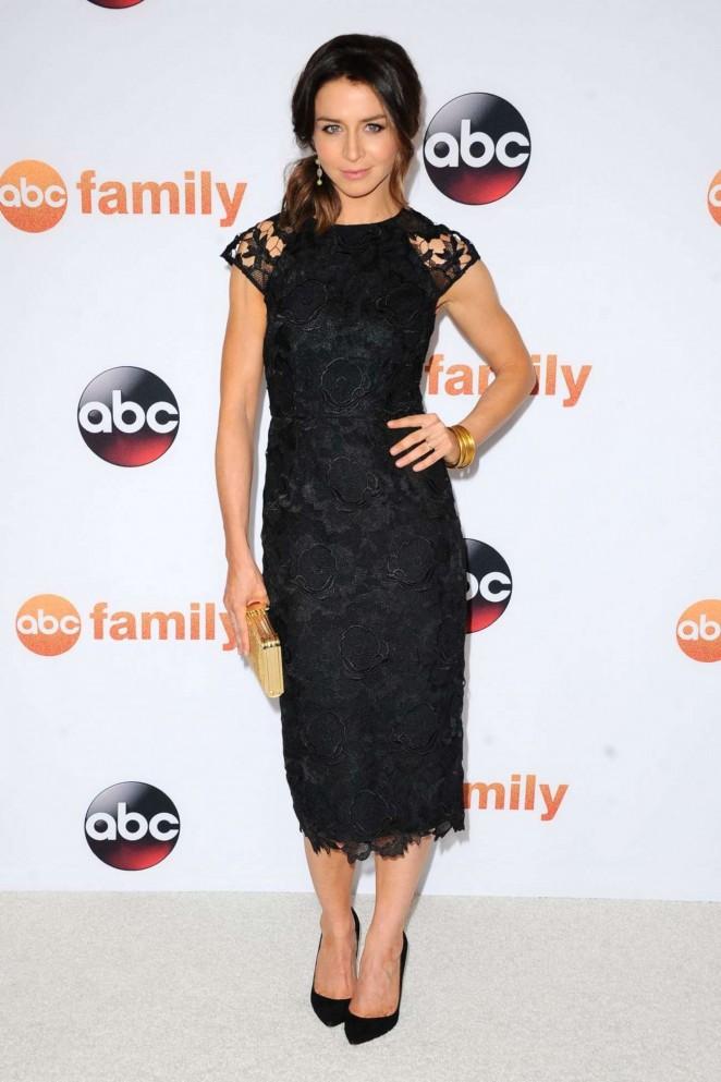 Caterina Scorsone - Disney ABC 2015 Summer TCA Press Tour Photo Call in Beverly Hills
