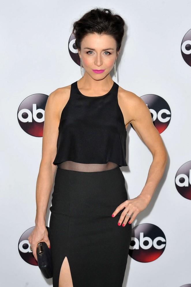 Caterina Scorsone - Disney/ABC 2016 Winter TCA Press Tour in Pasadena