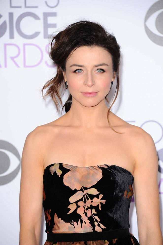 Caterina Scorsone - People's Choice Awards 2016 in Los Angeles