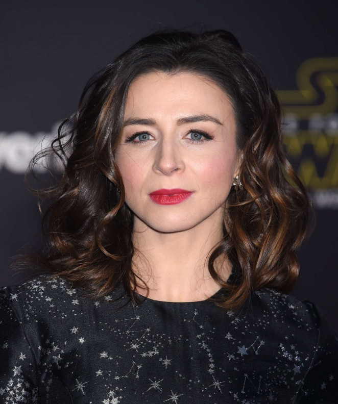 Caterina Scorsone - 'Star Wars: The Force Awakens' Premiere in Hollywood