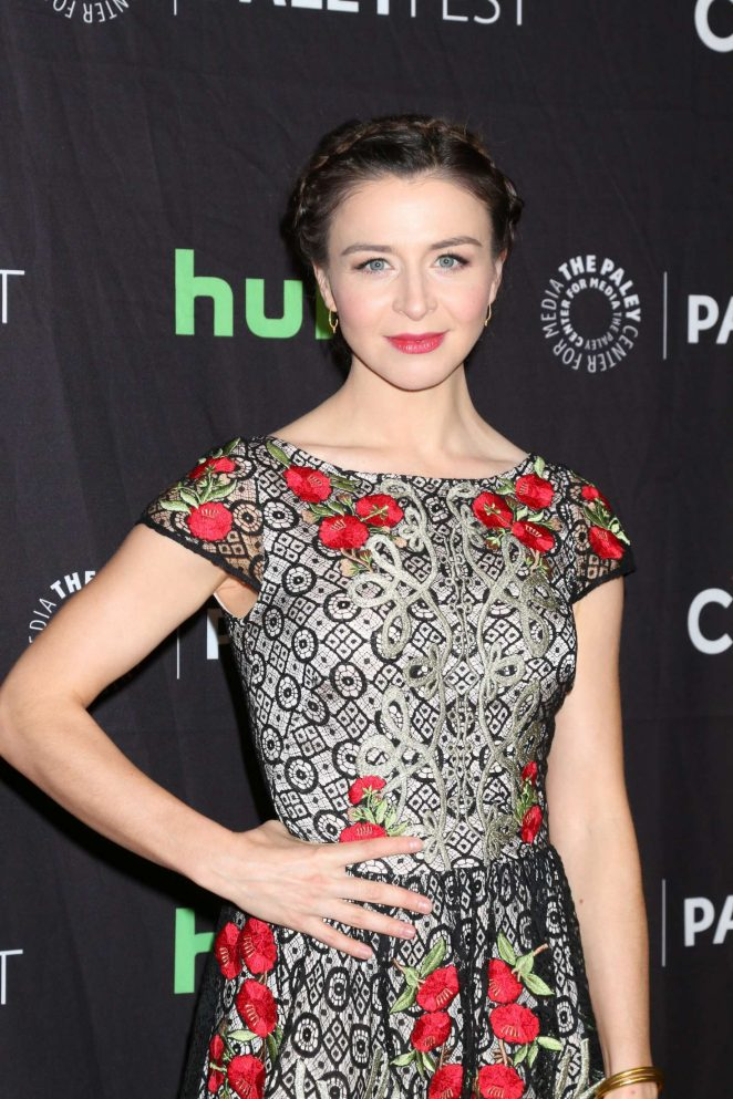 Caterina Scorsone - The Paley Center for Media's 34th Annual PaleyFest LA in Hollywood