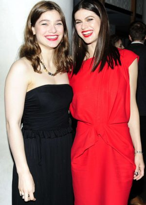 Catharine and Alexandra Daddario - 'Baywatch' Screening in New York