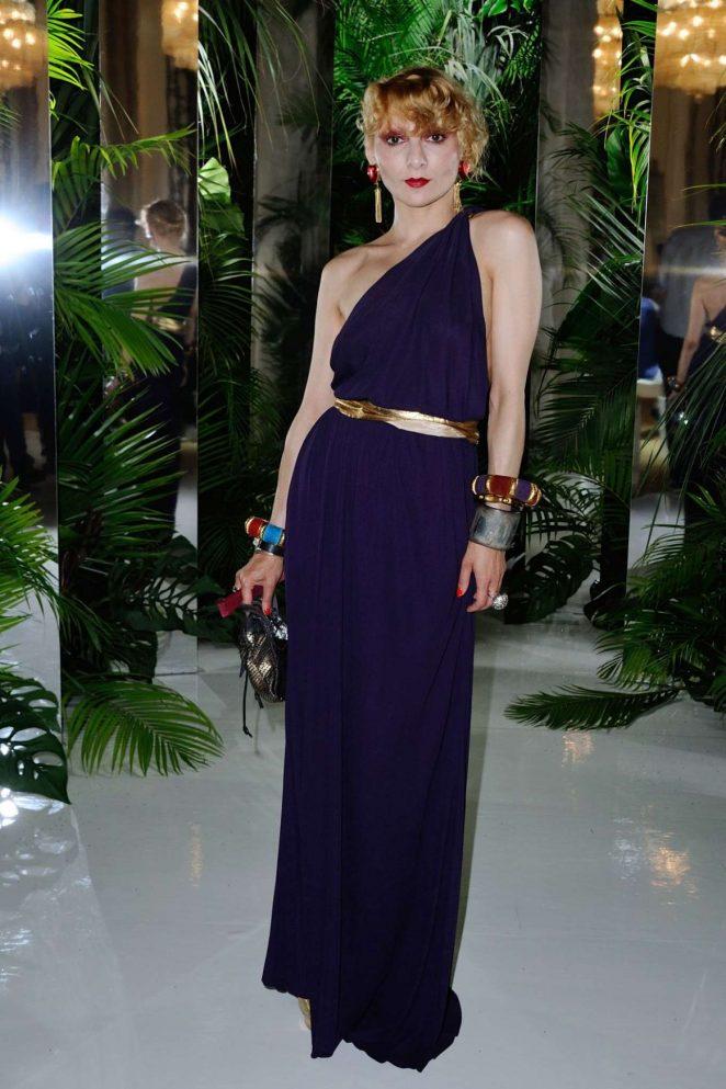 Catherine Baba - Azzaro Fashion Show in Paris