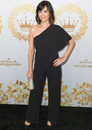 Catherine Bell - Hallmark Channel 2019 Winter TCA Tour in Pasadena